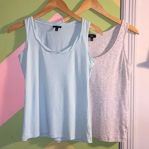 Two Talbots tank tops